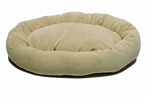 CPC Microfiber Small Bagel Bed, Sage