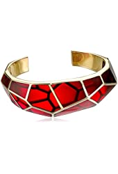 Isharya Louvre Colored Resin Cuff Bracelet, 2.5""