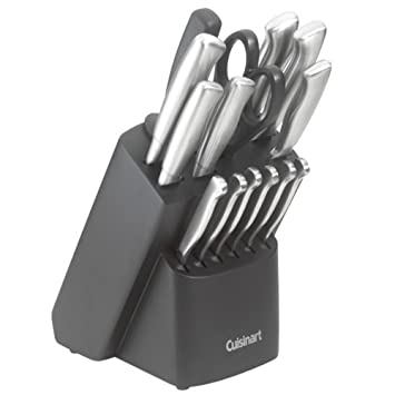 Cuisinart Kitchen Choice 17-Piece Stainless-Stee​l Forged Cutlery Set