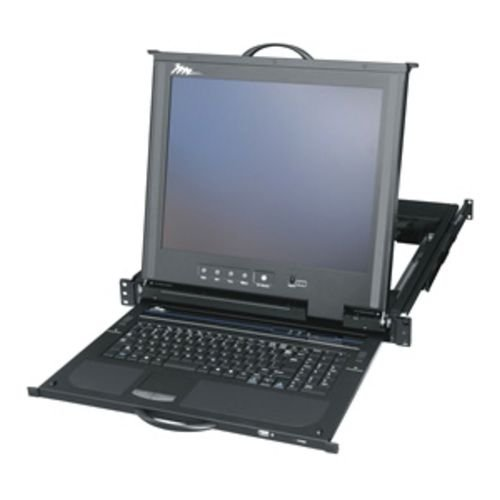 Rackmount With Lcd, Keyboard And Touchpad Kvm Switch: 8 Port
