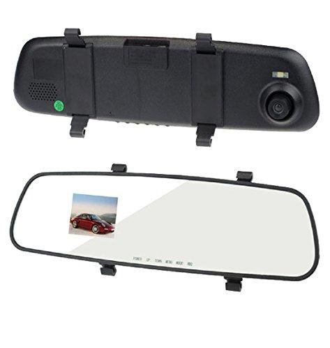 "Bessky(Tm) Original Hd Rearview Mirror Car Dvr - 2.7"" Lcd Display Dashboard Dashcam Black Box Video Recorder"