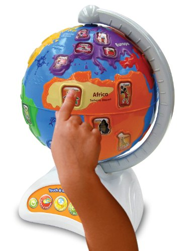 Vtech Touch and Teach Learning Globe Toy