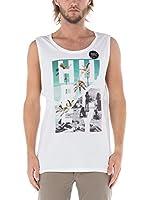 Nike Hurley Camiseta Tirantes Sliced (Blanco)