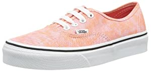 Vans Women's Authentic Canvas Coral (Sparkle) Low Top Sneakers (10.0 W US)