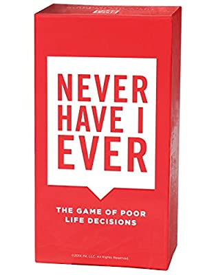Never Have I Ever - the Card Game of Poor Life Decisions - Only Get this Game if You Want Tears Running Down Your Face from Gut Busting Laughs, Outrageous Fun and to Be The Hit of Every Party From This Day Forward. Not for the Faint of Heart.