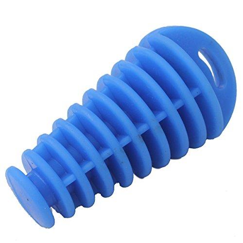wings-muffler-exhaust-wash-plug-car-wash-pipe-plug-motorcycle-dual-atv-quad-ktm-blue