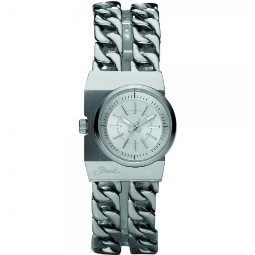 Diesel DZ5247 Ladies Silver Plated Analogue Watch
