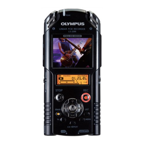 Olympus LS-20 PCM Digital Recorder with HD Movie