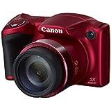 """Canon PowerShot SX400 IS Appareil photo numérique bridge 16,6 Mpix Écran LCD 3"""" Zoom optique 30X Rouge"""