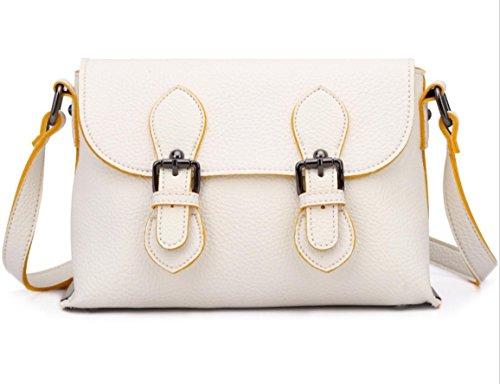 GQQ NUOVE borse a tracolla borse moda PU Dacron per Shopping Party e borsa lavoro GQ @ , meters white