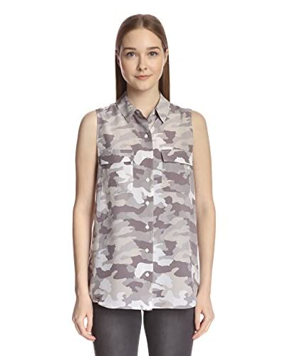 Acrobat Women's Button-Up Top with Pockets