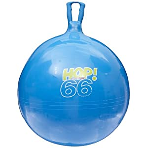 Amazon.com: Sportime Spring Balls Giant Hop 66 - 25 to 27 inch