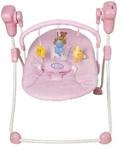Columpio plegable rosa para bebés. Hamaca, balancín o silla mecedora para niños de TORAL BEBE SL - BebeHogar.com