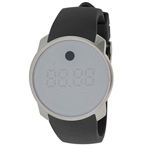 Movado 3600253 - Reloj unisex, correa de goma color gris