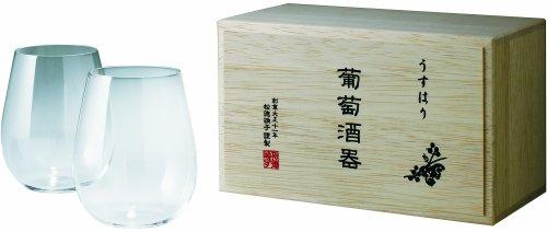 Klasse zwei Usuhari Trauben Liquor Bordeaux (330ml) Holzkiste (Japan-Import)