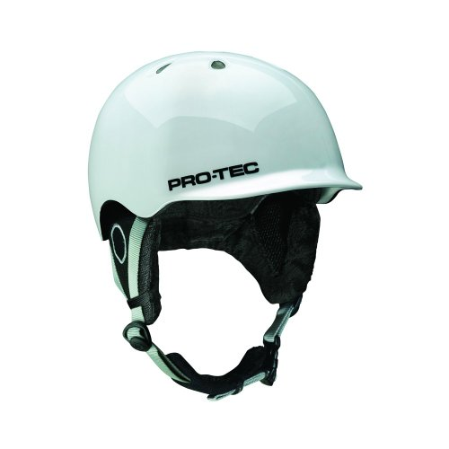Pro-Tec Erwachsene Helm Riot, Gloss White, 55-58 cm, 143530245