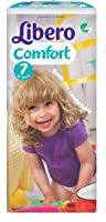 Libero 7 Comfort XLarge Nappies 16-26kg Pack of 21