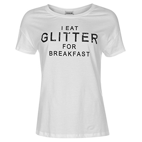 Noisy may -  T-shirt - Donna SW Glitter Large
