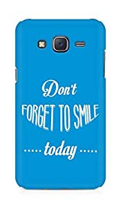 Amez Dont forget to Smile Today Back Cover For Samsung Galaxy J5