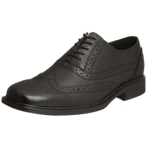 Hush Puppies Men's Titanium Black H12881000 7 UK