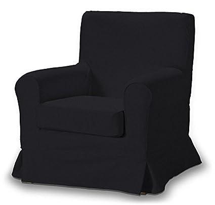 FRANC-TEXTIL 613-705-00 Ektorp Jennylund funda sillón, sillón funda, Ektorp Jennylund, Etna, negro