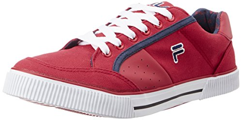 Fila-Mens-Aroldo-Black-and-Red-Sneakers