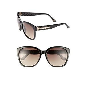 Michael Kors 2886S 001 Black Natalie Square Sunglasses
