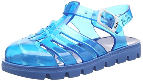 JuJu ShoesNino - Sandali  da Ragazza, Colore Blu (Blue (Denim Blue Sparkles / Denim)), 30 EU (12 Child UK)