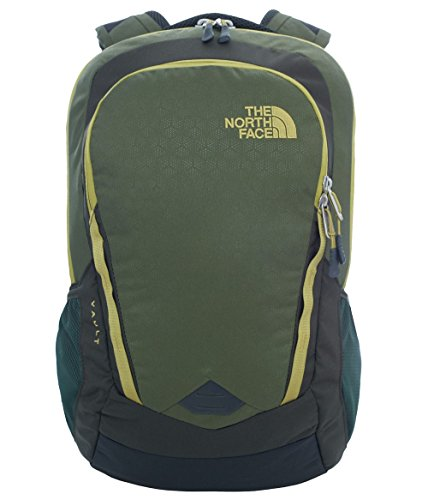 The North Face Vault Backpack - zainetto uso quotidiano, Verde (Green Emboss), Taglia Unica