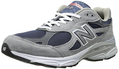 New Balance Men's M990NG3 Running Shoe,Navy/Grey,10.5 D US (Supinator Shoes compare prices)