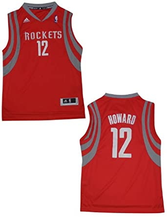 NBA Houston Rockets Howard #12 Youth Pro Quality Athletic Jersey Top by NBA