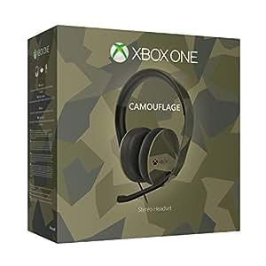 Micro casque stéréo camouflage M90 pour Xbox One édition