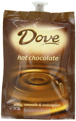 Flavia Dove Hot Chocolate, 18-Count Fresh Packs (Pack Of 4)