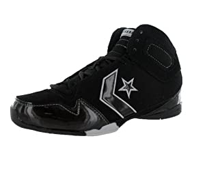 Converse Men's Special Ops Mid Basketball Shoe Black, White (12)