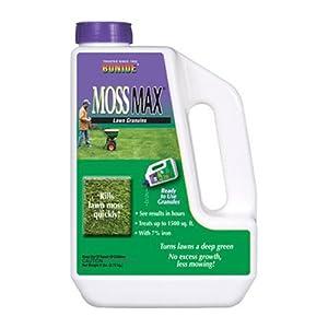 Bonide 60725 Moss Max Lawn Granules, 6 -Pound