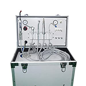 Alkita Portable Turbine Unit Built-in Type Air Compressor 60L/Min All In Lab Equipment 4H