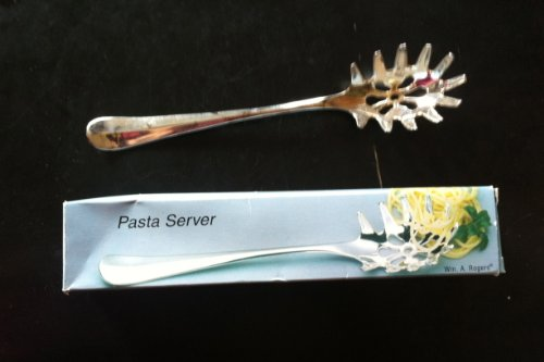 Silverplated Pasta Server by Wm. A. Rogers 11""