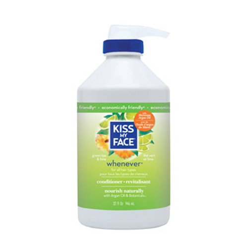Kiss My Face Whenever Conditioner Green Tea And Lime - 32 Fl Oz