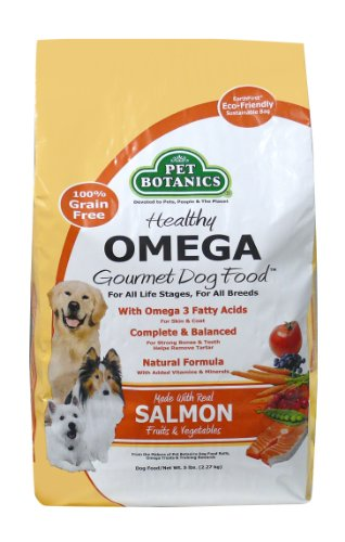 Pet Botanics Healthy Omega Dog Food - Salmon, 5-Pound