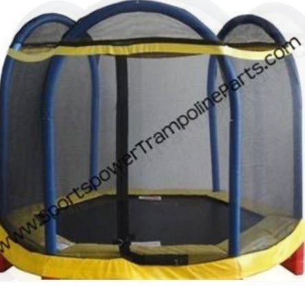 Trampoline-Enclosure-Mesh-Net-ONLY-for-the-Sportspower-88-Tiny-Tott-OEM-Equipment