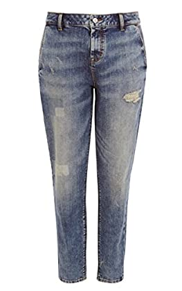 Skinny boyfriend vintage wash jean