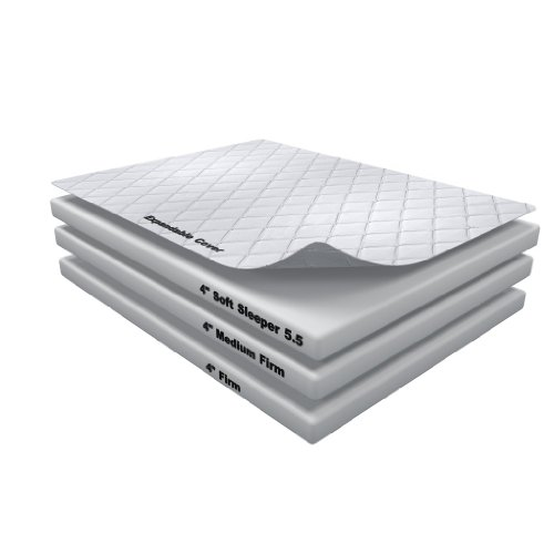 12 Inch Soft Sleeper 5.5 Queen Rv/Truck Mattress Bed With 4 Inches Of Visco Elastic Memory Foam Assembly Required Usa Made front-67039