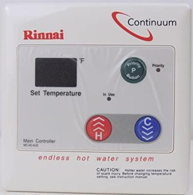 Rinnai Mc-45-4us Tankless Water Heater Digital Remote Control