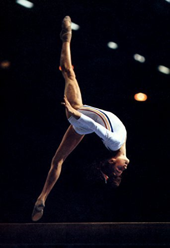 Nadia Comaneci Poster, Romanian Gymnast, Olympic Gold, Gymnastics by Unknown [並行輸入品]