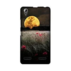 StyleO Lenovo A6000 Designer Printed Case & Covers Matte finish Premium Quality (Lenovo A6000 Back Cover) - Night Beauty