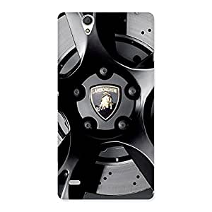 Special Lm Wheel Back Case Cover for Sony Xperia C4