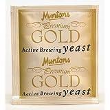 Munton's Premium Gold Yeast (6 grams) (Color: Gold)