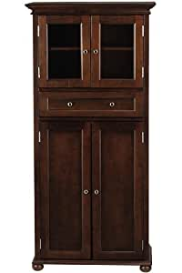 Hampton Bay 1 Drawer Tall Cabinet 4 Door Sequoia Bathroom Furniture Sets