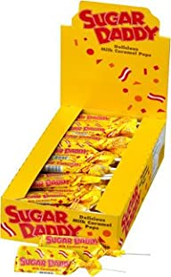 Sugar Daddy Pops (Small – 0.47oz): 48 Count