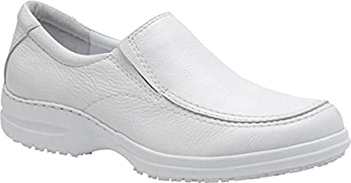 Pro-Step Men's Anderson Loafers,White,8 M